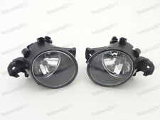 Clear Bumper Lights Driving Fog Lamps With Bulbs For Nissan Qashqai 2008-2014