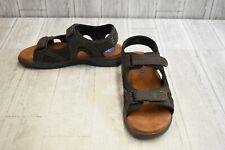 Nunn Bush Randall Two-Strap Sport Sandals, Men's Size 12M, Brown
