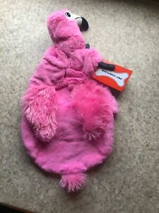 "TROPICAL HALLOWEEN PINK ""FLAMINGO"" Costume Puppy/Dog LARGE"