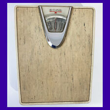 Old Borg Bathroom Scale Bubble Screen Works! 1950s Mcm Shabby Grandmillennial