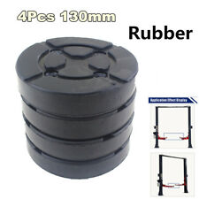 New 4X Round 130mm Rubber Arm Pads For Car Auto Truck Hoist Car Lift Accessories