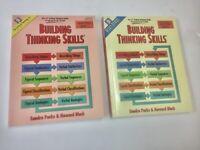 Building Thinking Skills Level 1 Teacher Guide & Student Workbook - BRAND NEW!
