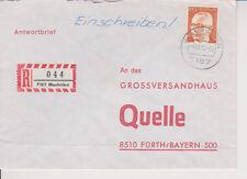 BUND, Mi. 731 EF R-Brief Blaufelden