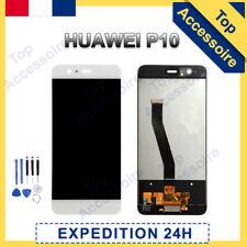 VITRE TACTILE + ECRAN LCD ORIGINAL POUR HUAWEI P10 NOIR / BLANC + OUTILS + FILM
