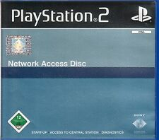 - Network Access Disk en OVP Sony Playstation PS 2 PAL -