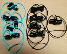Sony Walkman NWZ-W273s lot of nine (9) Blue & Black 4 GB MP3 Players