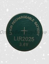 10 X LIR2025 CR2025 2025 Top Quality Bulk 3.6V Rechargeable Lithium Battery