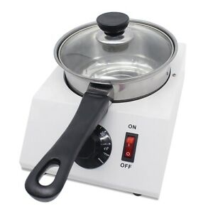 VI 110V 220V Chocolate Melting Pot Electric Fondue Melter Machine Kitchen Tool