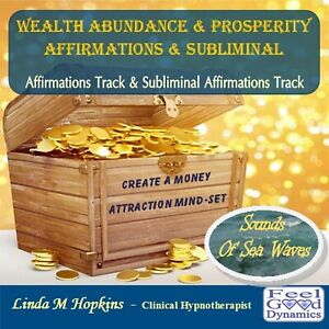 Wealth Abundance & Prosperity Affirmations CD Subliminal Affirmations CD