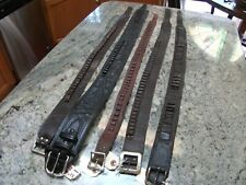 vintage cartridge belt lot,,and more