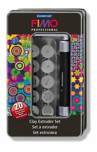Staedtler 8700 17 Fimo Professional Clay Extruder Tool Set for Modelling Clay