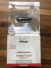 Sealed VERIZON WIRELESS PLANTRONICS MARQUE M155 Bluetooth Headset New