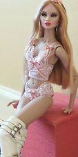 Lingerie Set Fit Barbie, integrity toy's, nuface, fr, poppy Parker
