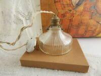 LAMPADARIO ANTICO LIBERTY ART NOUVEAU VETRO PRESSATO ANTIQUE CEILING LAMP