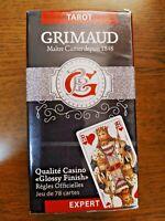Jeu de Tarot 78 cartes Expert Qualité Casino  Grimaud Fabrication Française