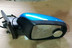NISSAN NOTE  E11 DRIVER SIDE WING MIRROR  BLUE BV4  FOLDING