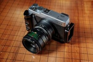 ⭐MINT⭐ Virtually NEW! HELIOS 44-2 58mm f/2 Lens + Adapt Fuji Fujifilm X Mount FX