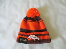Denver Broncos Knit Hat, NFL New Era Men's One Size Brand New