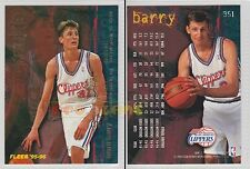NBA FLEER 1995-1996 SERIES 2 - Brent Barry, Clippers # 351 - Mint