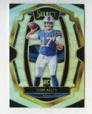 2018 Select Football Josh Allen BILLS RC Premier Level Silver Prizm #139