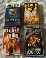 Simon R Green Forest Kingdom Series 1-4 Blue Moon Rising Blood And Honor