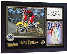 Travis Pastrana Nitro Circus photo print signed autograph FRAMED