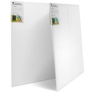 Große Leinwand Sets Canvas zum Bemalen 100% Baumwolle Holz-Keilrahmen 280g/m²