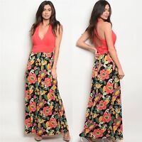 NWT Large Women's Gilli Brand Floral Maxi Dress Summer Boutique Top