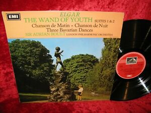 1968 UK NM ASD 2356 STEREO ELGAR THE WAND OF YOUTH SUITES 1 & 2 LPO BOULT