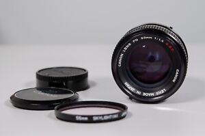 Canon FD S.S.C. 50mm F1.4 SSC Lens