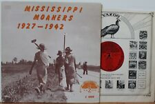 "Mississippi Moaners LP ""1927-1942"" ~ Yazoo 1009 ~ Son House ~ Skip James VG++"