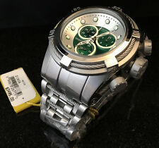 @New Invicta Reserve 52mm Bolt Zeus Quartz Chronograph 21806 Stainless Bracelet