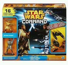 STAR WARS COMMAND FINAL BATTLE PACK 10 FIGURES & 5 VEHICLES