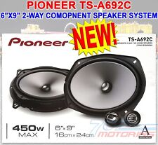 "PIONEER TS-A692C 450 W MAX 6""X9"" 2-WAY 4-Ohm STEREO CAR AUDIO COMPONENT SPEAKERS"
