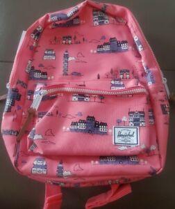 Herschel Settlement Kids Backpack Paris Pink NWT