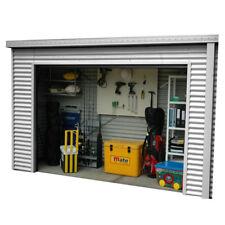 Smartlocker 900 3.65m x 0.9m Portal Frame Zinc Roller Door Shed
