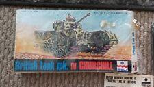 Vintage British Tank Mk. IV Churchill Esci