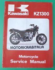 KAWASAKI KZ1300 Z1300 79 81  MANUALE OFFICINA MANUAL WORKSHOP SERVICE HANDBOOK