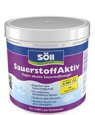 Söll SauerstoffAktiv 500 g für 5000 L Teichpflege gegen akuten Sauerstoffmangel
