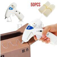 Cordless 10W Heating Hot Melt Glue Gun Craft Repair Tool + Adhesive Glue Sticks