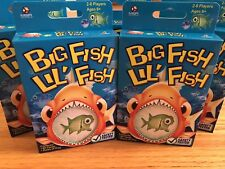 New Big Fish Lil' Fish Game 60 Cards MGA Games 2-6 Players Fish Eat Fish Ages 6+