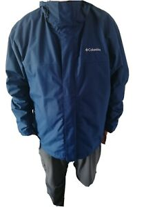 Mens Columbia Omni Tech Waterproof Coat. XXL