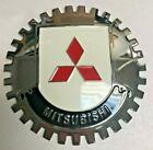 NEW Indoor/Outdoor Mitsubishi Badge/Emblem- Adhesive Backed- Chromed Brass
