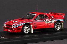 Last One - Lancia 037 Rally 1985 Martini - HPI #8233 - 1/43