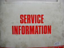 YAMAHA XJ600 S/N Service Information Wartungsanleitung Bj. 92, 93, 94, 96, 98,