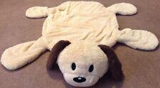 "Puppy Nap Mat Dog Kid's Rug Plush Soft Toddler Play Cuddle 34""x26"""