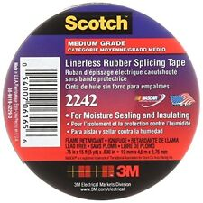 3M Linerless Electrical Rubber Tape, .75-Inch by 15-Foot
