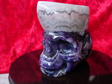 Crystal skull amethyst special production cs3
