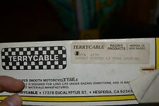 NOS Terrycable Suzuki Clutch cable #4121 85'-91' LT250