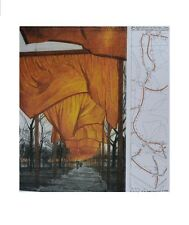 Christo the gates, project for Central Park Poster Picture Art Print 58,5x48,4cm